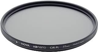 Hoya HD Nano PL-CIR Polarizing Filter (77mm), Black