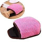 Sinwo USB beheiztes Mauspad Maus Handwärmer mit Handgelenkschutz Warm Winter, Rose, Medium