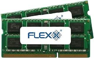 Flexx ram Memory 8GB kit (4GBx2) DDR3 PC3-8500 1067MHz 204-Pin SODIMM (for Mac)