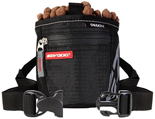 EzyDog Snakpak Tasche für Leckerlis, schwarz