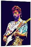 Unikei Bild Auf Leinwand Eric Clapton Berühmter englischer