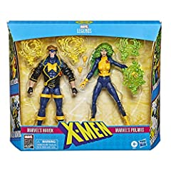 Collectible action figures on a 15-cm scale of x-men fans, collectors and children from 4 years old will be able to enjoy these x-men action figures inspired by the characters of marvel comics 2 iconic x-men in 1 collection pack marvel havok and marv...
