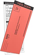 MP Printing Fake Parking Tickets for Pranks with Multiple Sections to Fill in.. (100 Pieces)
