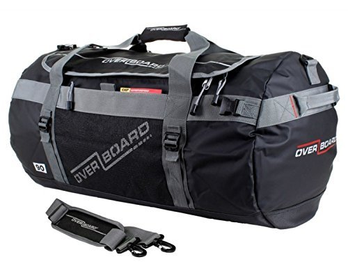 OverBoard Watertight Duffle Bag 60 l ADVENTURE Black by Overboard