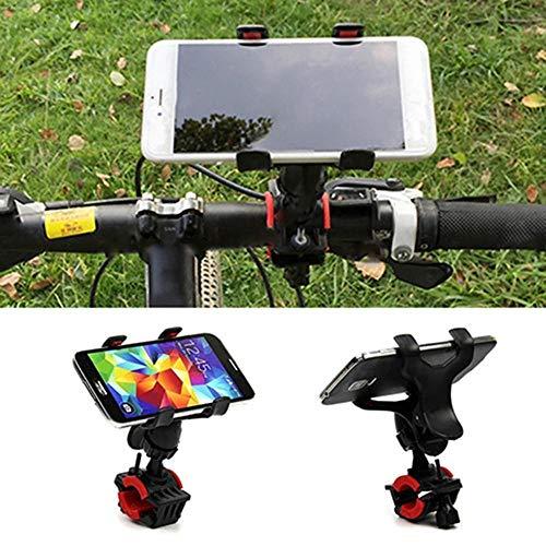 Motocicleta giratoria Universal de 360 Grados, Bicicleta de montaña, Manillar de Bicicleta, Soporte de Bicicleta, Marco de navegación GPS para teléfono móvil-1