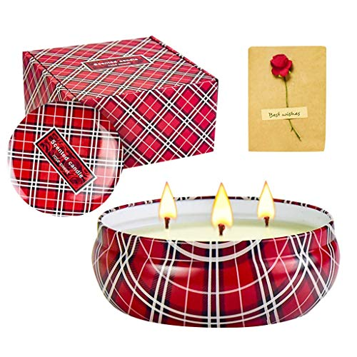 Coffret Cadeau Bougie Parfumée, Fulltime Huile Essentielle Aromathérapie pour bain Massage Spa Yoga Portable Cadeau (1pc)