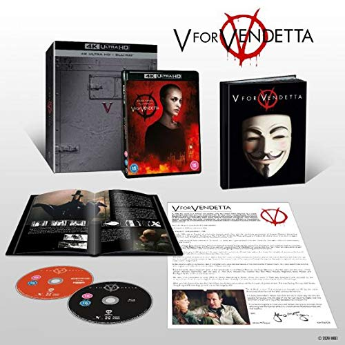 V for Vendetta Ultimate Collector's Edition [4K Ultra HD] [2005] [Blu-ray] [Region Free]
