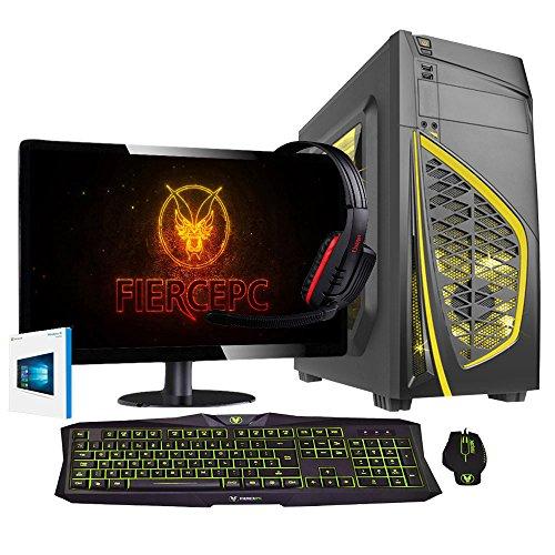 Fierce 3.8GHz AMD 845 Vierkern Prozessor, AMD RX 470 4GB Grafikkarte, 8GB RAM, 1TB SATA3 Festplatte Schnell Desktop Gaming PC - Pack 234880