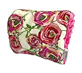 The Nursie Slip-on Arm Nursing Pillow (Annabelle Rose w/Fushia Minky)