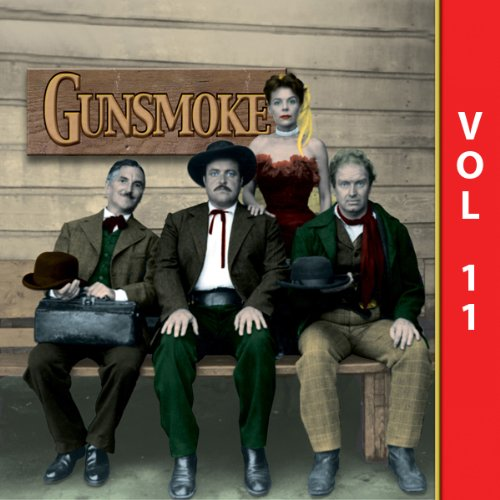 Gunsmoke, Vol. 11 audiobook cover art