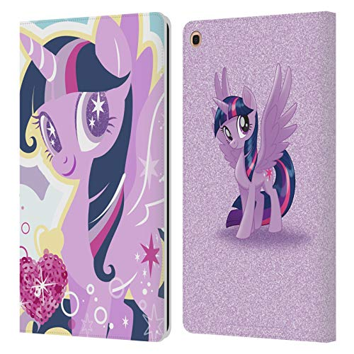 Head Case Designs Officially Licensed My Little Pony Twilight Sparkle Sugar Crush Leather Book Wallet Case Cover Compatible with Samsung Galaxy Tab A 10.1 2019