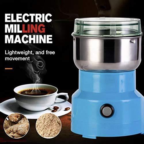 Liamostee Multifunction Smash Machine Coffee Bean Seasonings Electric Milling Machine Grinder