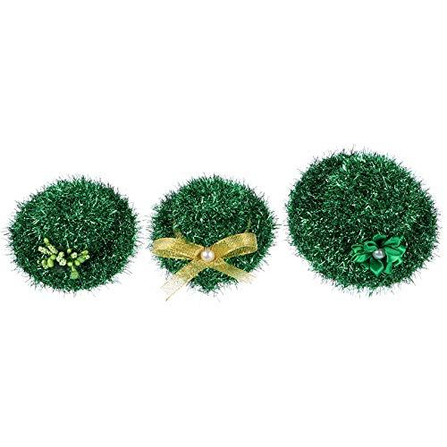 ABOOFAN 3 Piezas Sombrero de Trébol Sombrero de Duende Sombreros de Copa Trébol Aros de Pelo Novedad Vestido de Lujo Disfraz Sombrero Día de San Patricio Sombrero Decoraciones Verdes