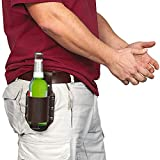 GreatGadgets 1880 Classic Beer Holster, Leather, Espresso Brown