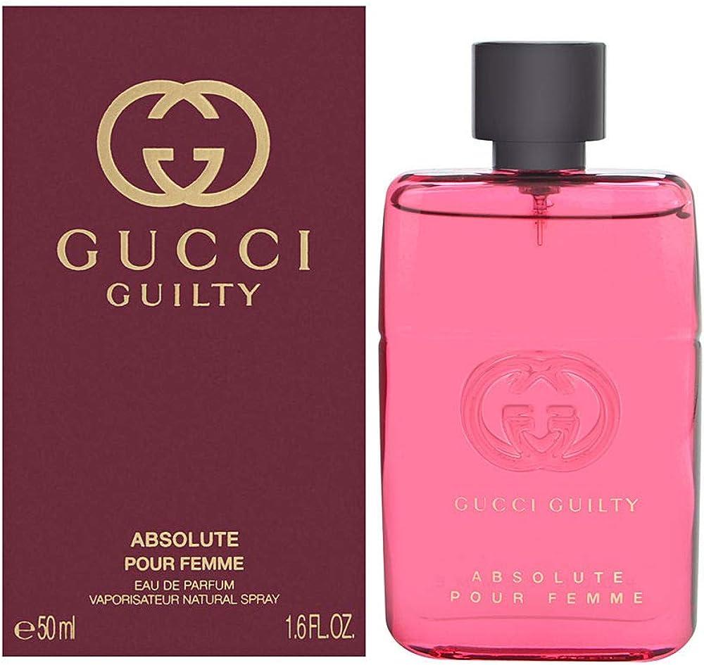 Gucci Guilty Absolute Pour Femme,Eau de Parfum,profumo da donna,50ml 8005610524146
