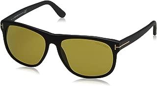 Tom Ford Mens Olivier Signature T-Bar Square Sunglasses Black O/S
