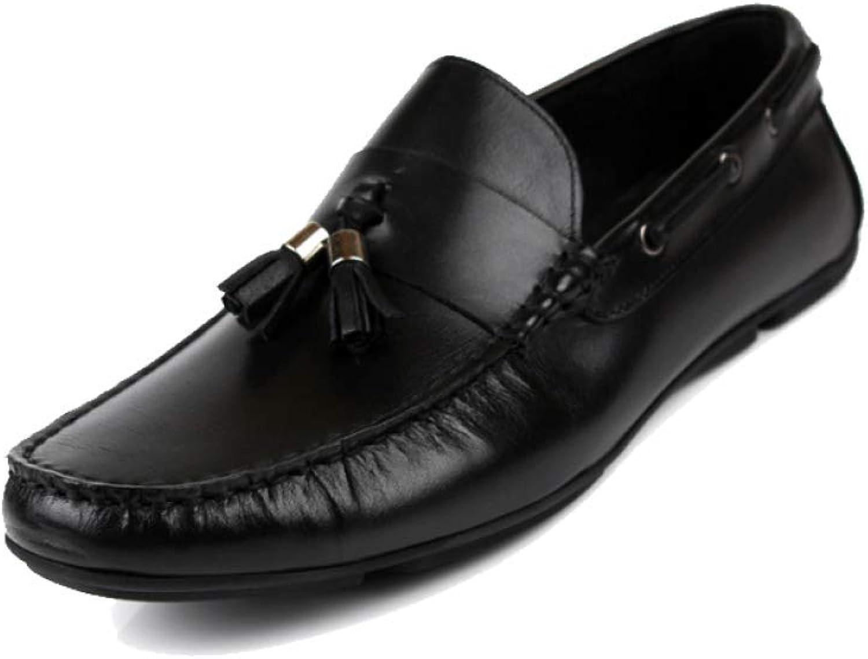 e14d11b8016dc YCGCM Men's Leather shoes, shoes, shoes, Sets of Feet, Round Head ...