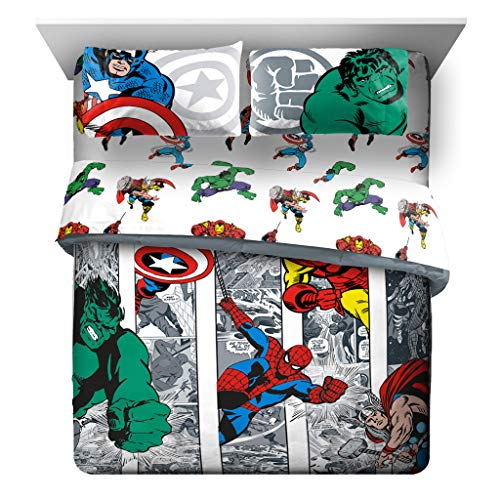 queen marvel bed set - 1