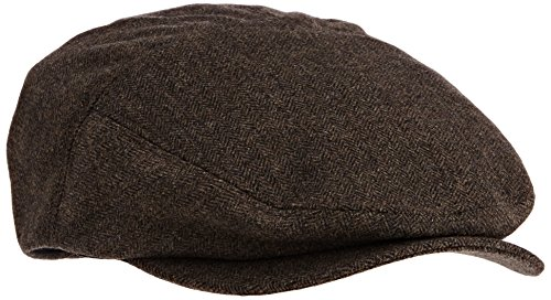 Bailey Ormond Casquette Souple, Chevrons Marron, L Mixte
