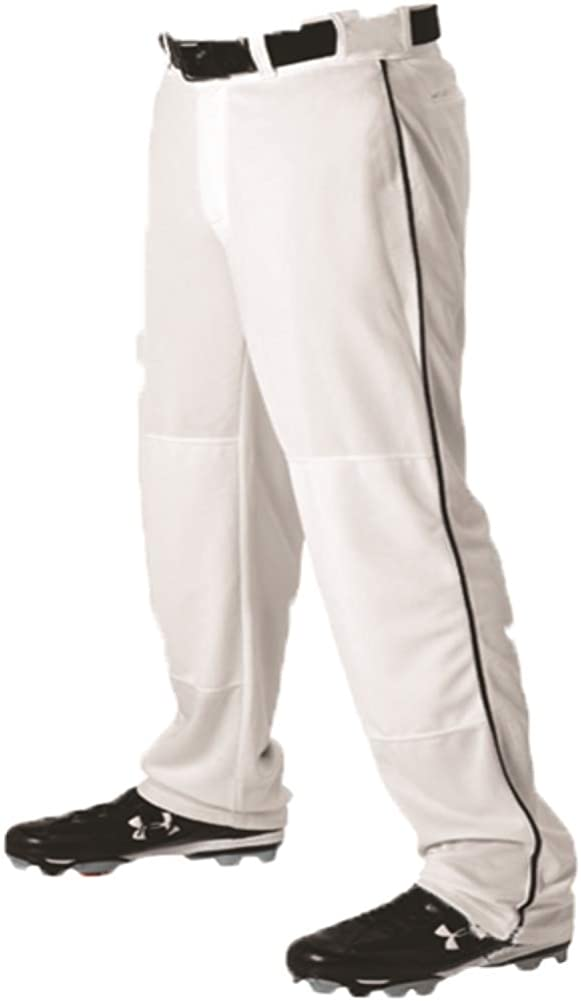 Teamwork Youth Baseball Pants White w Open Bo Jacksonville Mall Pipe Overseas parallel import regular item Black X-Large