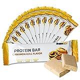 Proteína Proteínas cerrojo Low Carb Q de bar–Whey Cobre Fitness Snack de supplify–Caja 12x 60G