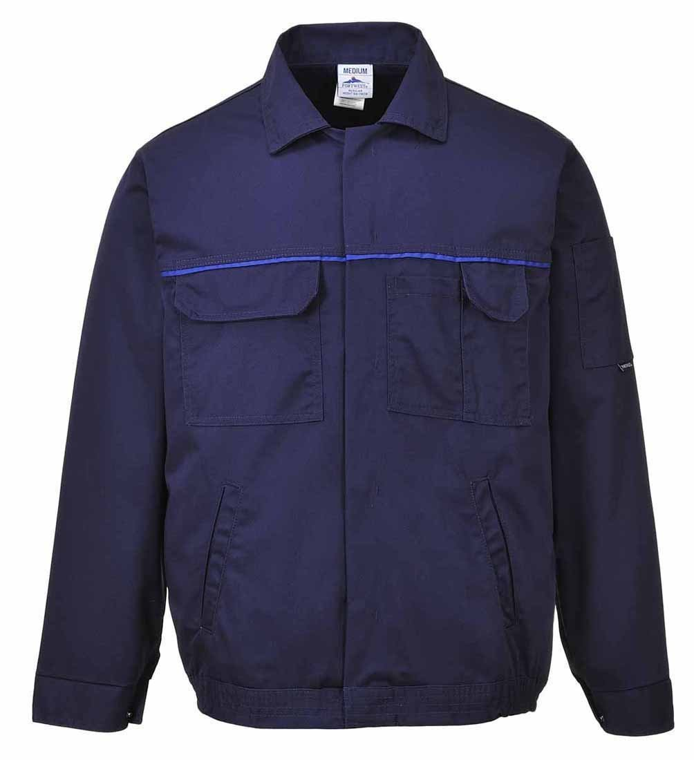 Portwest Workwear Mens Classic Work Jacket Navy XL