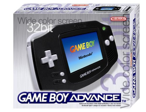 Game Boy Advance Konsole Black