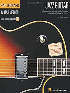 Hal Leonard Guitar Method - Jazz Guitar (Book/Online Audio): Learn to Play Jazz Guitar With Step-by-step Lessons and 40 Gr...