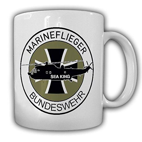Marineflieger Bundeswehr Sea King Heer BW Bückeburg Fritzlar Fürstenfeldbruck Patch Wappen Abzeichen Heli - Tasse Kaffee Becher #18180