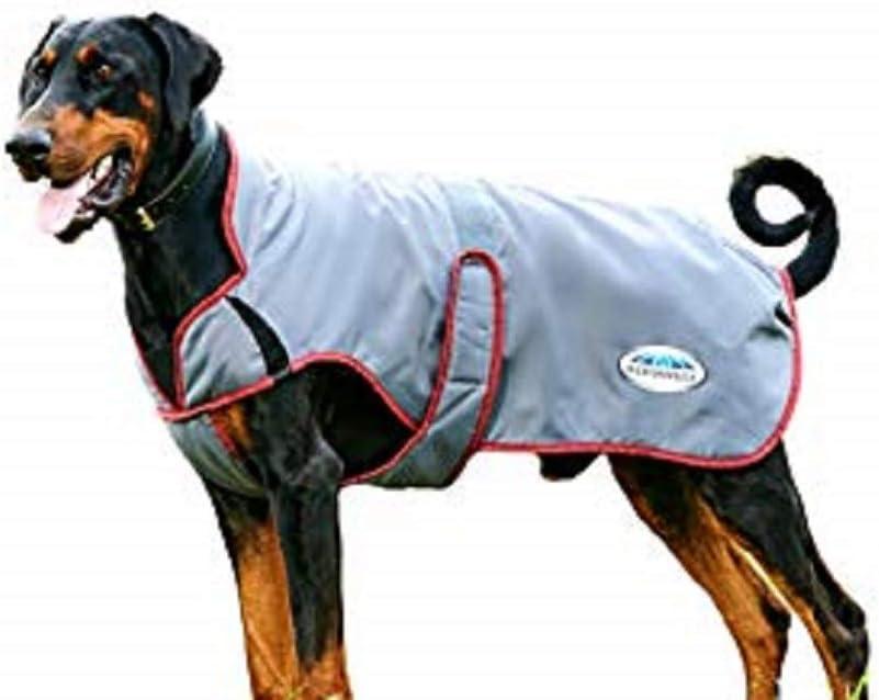 Weatherbeeta Boston Mall lowest price Comfitec Windbreaker Free Deluxe Grey Bur Coat Dog