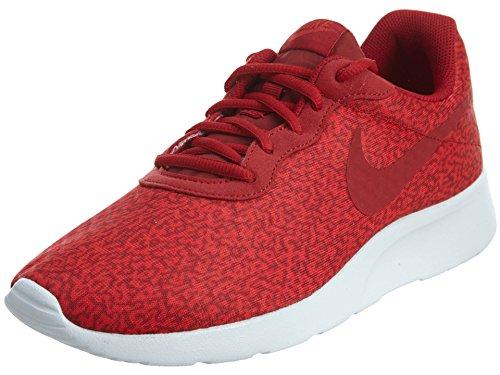 Nike Tanjun Print, Zapatillas de Running para Hombre, Rojo (Rojo (Gym Red/Gym Red-Action Red-White), 39 EU