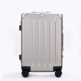 SMLCTY Trolley Case,carry On Luggage,carry On Luggage With Spinner Wheels,Practical And Beautiful Universal Wheel, Pull Box,Aluminum Frame Customs Lock High-grade Universal Wheel Trolley Case