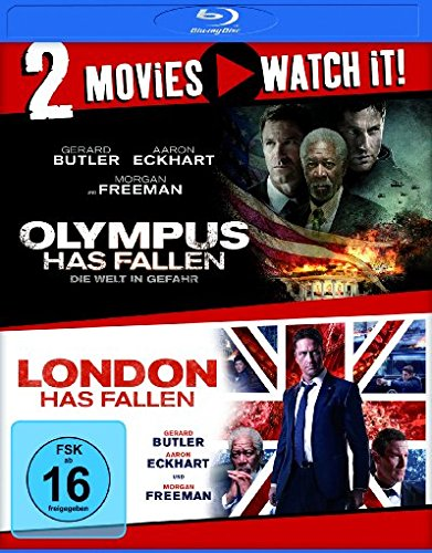 Olympus Has Fallen - Die Welt in Gefahr/London Has Fallen [Alemania] [Blu-ray]
