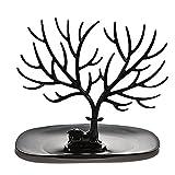 ROSENICE Soporte soporte collar Collar porta pulsera joyería soporte decorativo ciervos asta árbol Design(Black)