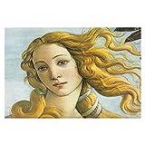 YYAYA.DS Cuadros Decorativos Reproducción de Venus de Sandro Botticelli, Famosa Pintura al óleo Impresa en Lienzo, póster de Arte de Pared e Imagen Impresa 60x90cm