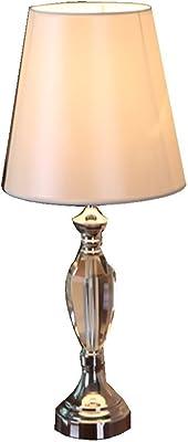 HUAIX Home Lámpara de sobremesa Simple Moderna de Cristal lámpara de Mesa