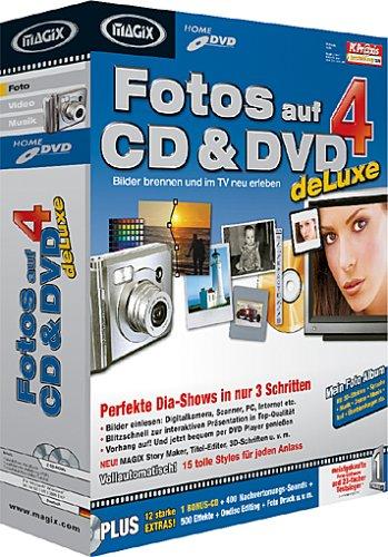MAGIX Fotos auf CD & DVD 4.0 deLuxe
