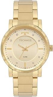 Relógio Technos Feminino Trend Dourado 2036MJS4X