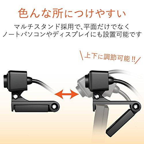 エレコムWEBカメラマイク内蔵100万画素高精細ガラスレンズブラックUCAM-C310FBBK