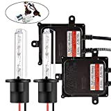 Chemini Kit di conversione HID per auto H1 55W Reattore HID digitale per lampadine per fari anteriori auto (6000k - Xenon bianco) - 1 anno di garanzia