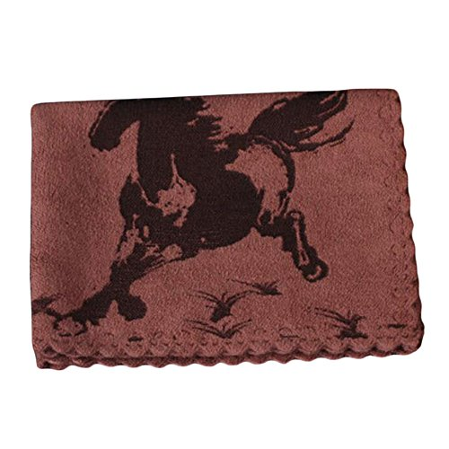 George Jimmy Water Absorption Towels Cotton Thicken Horse Tea Towels Tea Accessory-Coffee