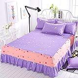 huyiming Utilizado para la Cubierta Delgada del colchón Impermeable Verano Cubierta de la cama1.8x2.0m