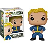 Lotoy Funko Pop Games - Fallout 4: Vault Boy Collectible Toy #53 3.75inch Vinyl Figure for Games Fans Game Derivatives Gift