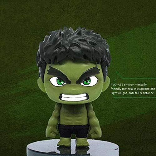 Bobblehead Figuras Decoración del Coche Iron Man/Spider-Man/Captain America/Singular Dr. / Hulk/Fighter Doll...