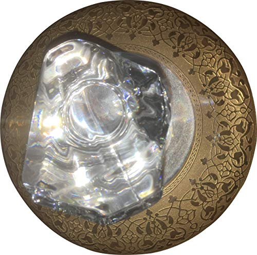 1-teiliges federbelastetes Zerkleinern aus Messing mit Spitzenschutzkappe MetalWorking Stanzmarkierungswerkzeug Automatisches Mittelstanzwerkzeug Gold