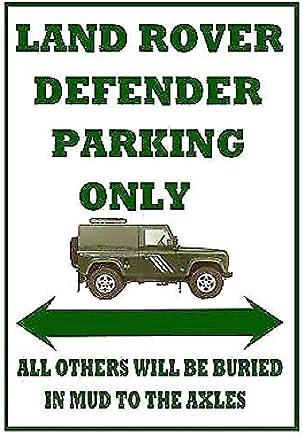 Aimant Land Rover Creek Pin-Up Vintage Garage M/étal//Acier Panneau Mural 9 x 6.5 cm
