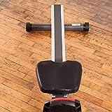 SportPlus Rudergerät für zu Hause, Klappbar, Leises Magnetbremssystem, Kugelgelagerter Rudersitz, Brustgurtkompatibel, Trainingscomputer, Nutzergewicht bis 150 kg, Sicherheit geprüft - 5