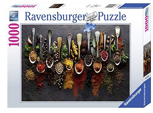 RAVENSBURGER PUZZLE- Ravensburger 88550-Puzzle (1000 Piezas), diseño de Especias de Todo el Mundo (88550)