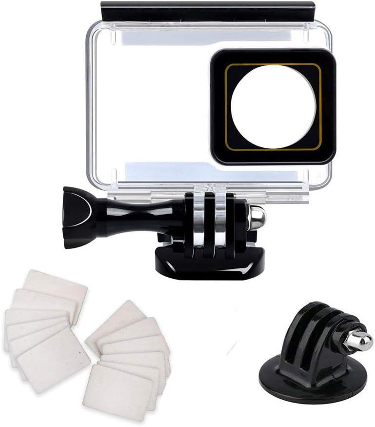 Funda carcasa impermeable para Xiaomi Yi 4K / Xiaoyi Yi 4K+ / Yi Lite cámara de acción con pantalla táctil accesorios submarino buceo 40M carcasa protectora