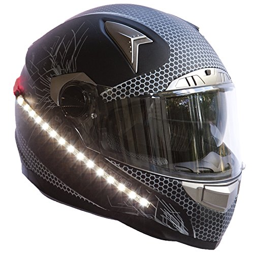 Motorcycle Helmet With Lights
